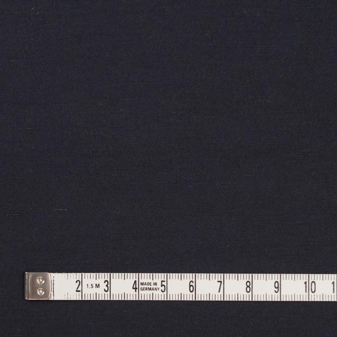 コットン&ナイロン×無地(アッシュネイビー)×バックサテンシャンタン_全2色_イタリア製 イメージ4