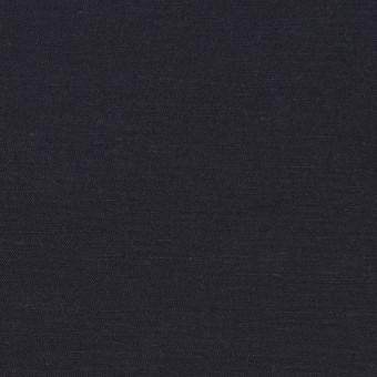 コットン&ナイロン×無地(アッシュネイビー)×バックサテンシャンタン_全2色_イタリア製