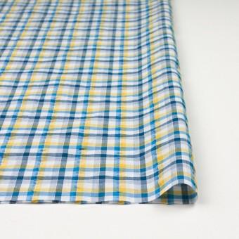 コットン×チェック(イエロー&ブルー)×サッカー_全3色 サムネイル3