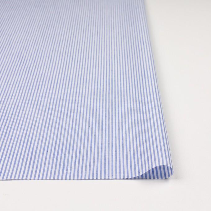 コットン&リネン×ストライプ(ブルー)×ローン イメージ3