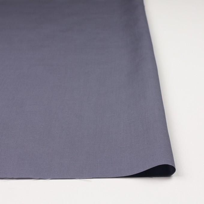 キュプラ&リネン混×無地(ラベンダーグレー)×ブロード_全2色 イメージ3