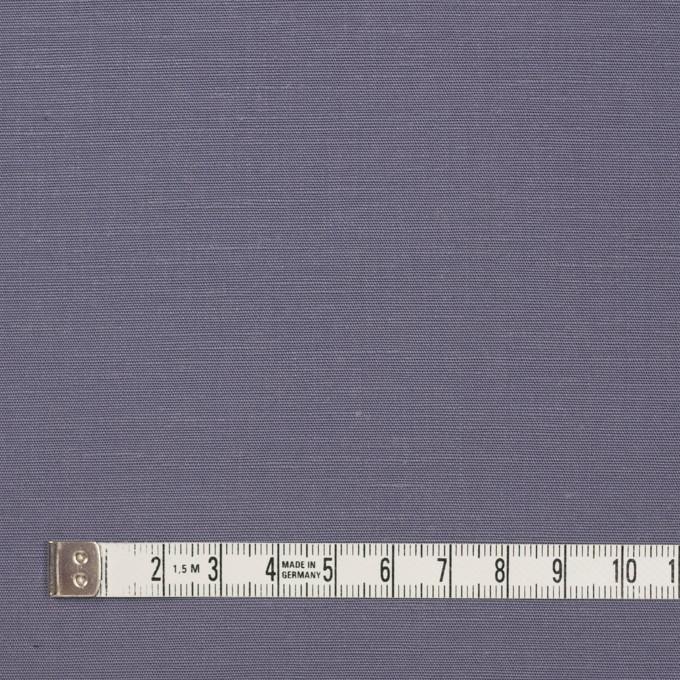 キュプラ&リネン混×無地(ラベンダーグレー)×ブロード_全2色 イメージ4