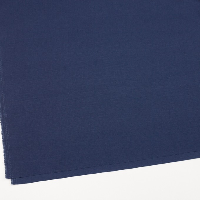 キュプラ&リネン混×無地(ネイビー)×ブロード_全2色 イメージ2