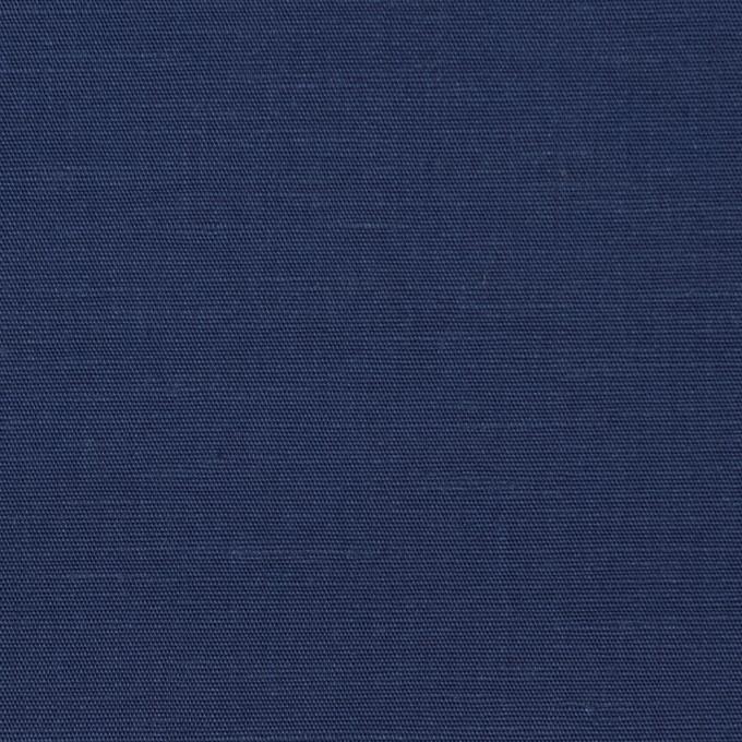 キュプラ&リネン混×無地(ネイビー)×ブロード_全2色 イメージ1