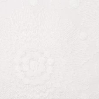 コットン×フラワー(ホワイト)×ローン刺繍_全3色 サムネイル1
