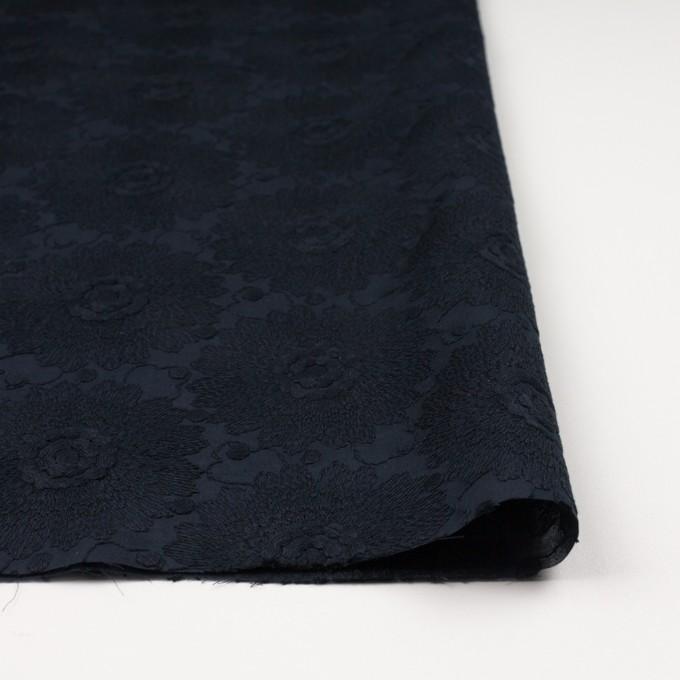 コットン×フラワー(ダークネイビー)×ローン刺繍_全3色 イメージ3