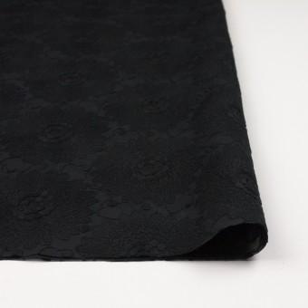 コットン×フラワー(ブラック)×ローン刺繍_全3色 サムネイル3