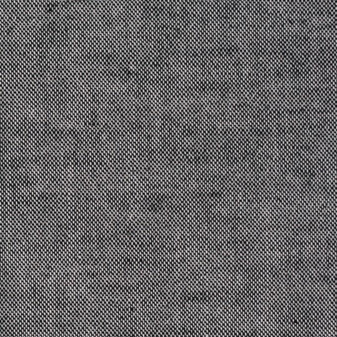 コットン×無地(チャコール)×薄オックスフォード イメージ1