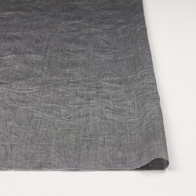 コットン&リネン×無地(グレー)×ボイルワッシャー イメージ3