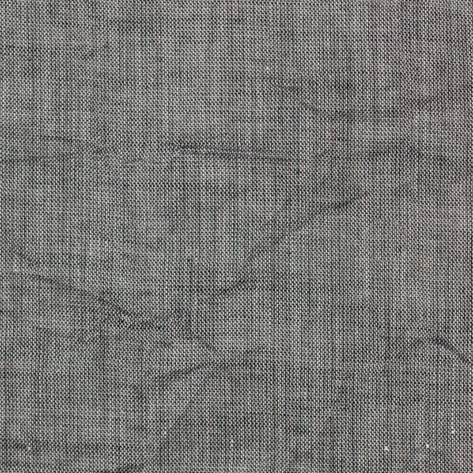 コットン&リネン×無地(グレー)×ボイルワッシャー イメージ1