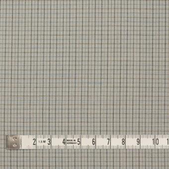 ウール×チェック(セラドングレー)×ポプリン_全2色_イタリア製 サムネイル4