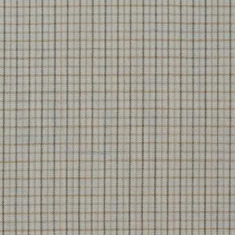 ウール×チェック(セラドングレー)×ポプリン_全2色_イタリア製 サムネイル1