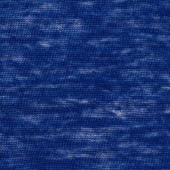 リネン×無地(マリンブルー)×天竺ニット_全2色