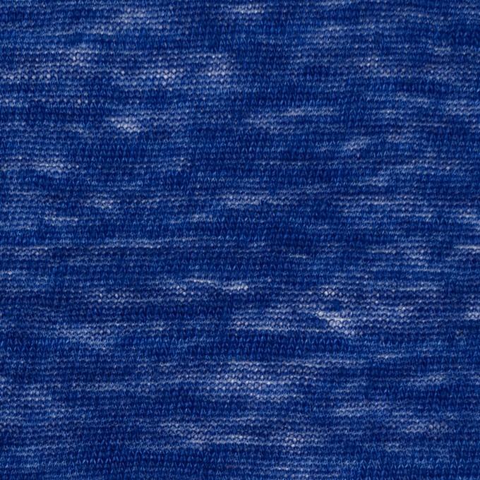 リネン×無地(マリンブルー)×天竺ニット_全2色 イメージ1