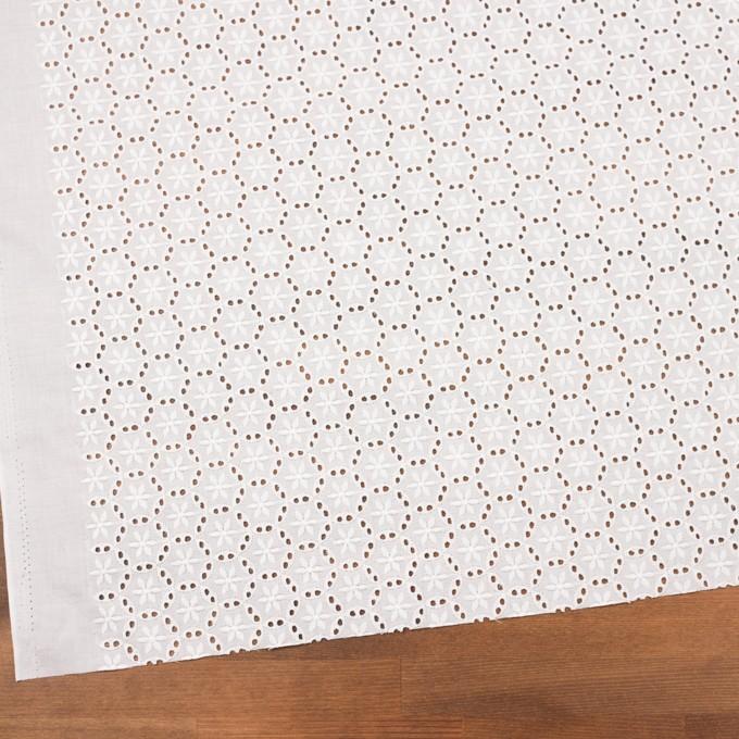 コットン×フラワー(オフホワイト)×ローン刺繍_全3色 イメージ2