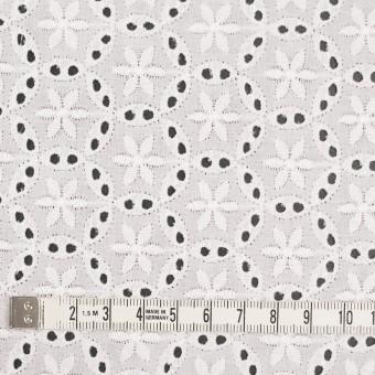 コットン×フラワー(オフホワイト)×ローン刺繍_全3色 サムネイル4