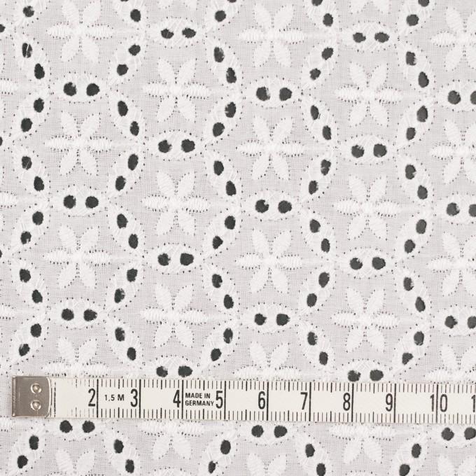 コットン×フラワー(オフホワイト)×ローン刺繍_全3色 イメージ4