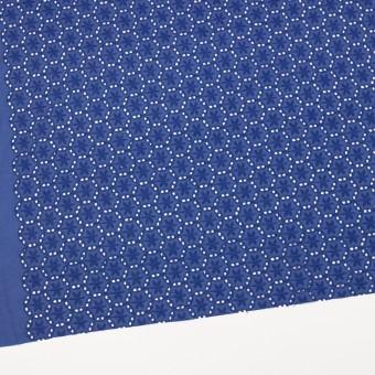 コットン×フラワー(マリンブルー)×ローン刺繍_全3色 サムネイル2
