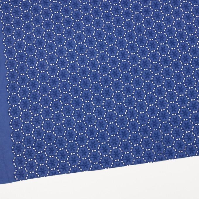 コットン×フラワー(マリンブルー)×ローン刺繍_全3色 イメージ2