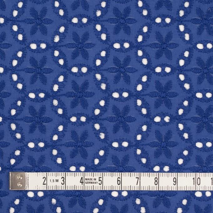 コットン×フラワー(マリンブルー)×ローン刺繍_全3色 イメージ4