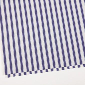 コットン×ストライプ(プルシアンブルー)×ブロード_全2色 サムネイル2