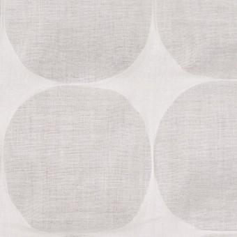 コットン×サークル(オフホワイト)×ローン_塩縮加工_全3色 サムネイル1