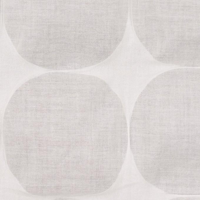 コットン×サークル(オフホワイト)×ローン_塩縮加工_全3色 イメージ1