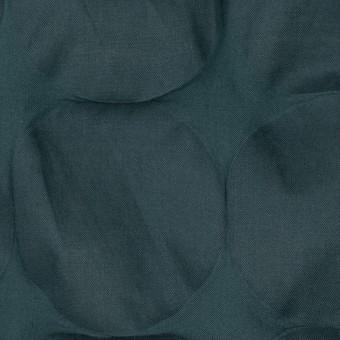 コットン×サークル(スレートグリーン)×ローン_塩縮加工_全3色 サムネイル1