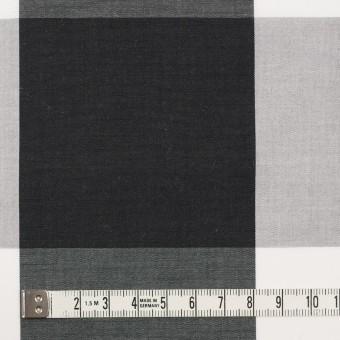 コットン×チェック(グレー&ブラック)×ブロード サムネイル3