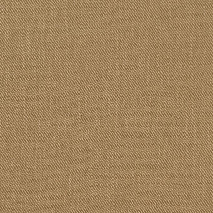 コットン×無地(カーキベージュ)×チノクロス イメージ1