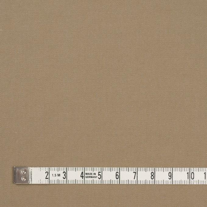 コットン×無地(カーキベージュ&アプリコット)×シャンブレーチノクロス_全3色 イメージ4
