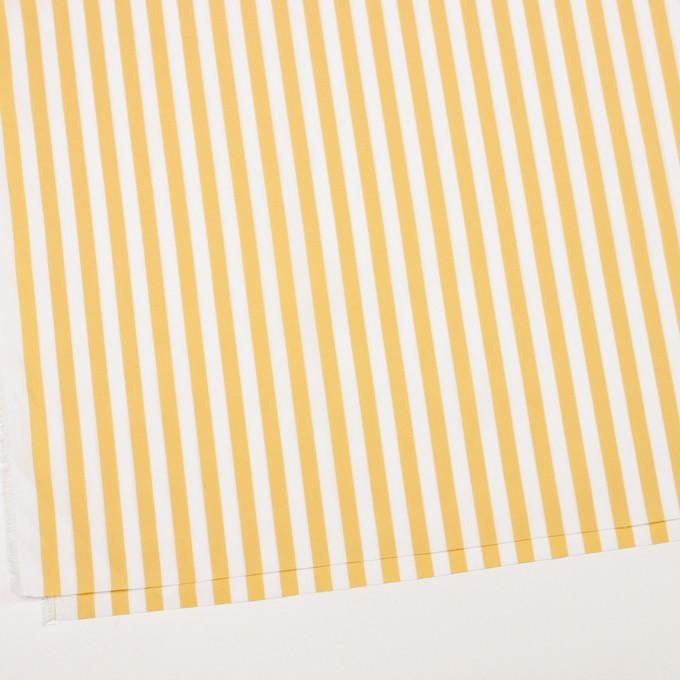 コットン×ストライプ(マスタード)×ブロード_全2色 イメージ2