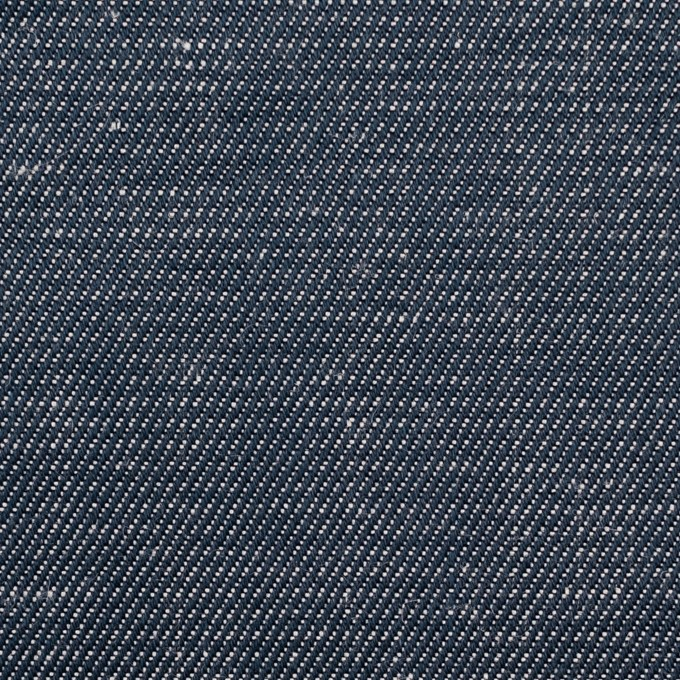 リネン×無地(アッシュブルー)×デニム_イタリア製 イメージ1