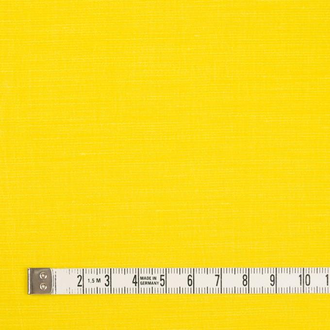 キュプラ&レーヨン×無地(レモンイエロー)×シャンタン_イタリア製 イメージ4