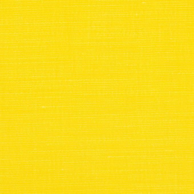 キュプラ&レーヨン×無地(レモンイエロー)×シャンタン_イタリア製 イメージ1
