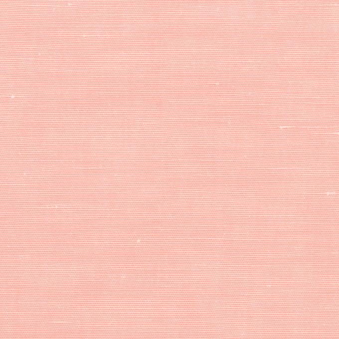 コットン&シルク×無地(ベビーピンク)×シャンタン_イタリア製 イメージ1