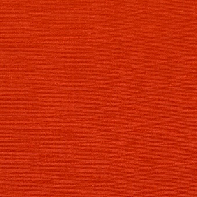 キュプラ&コットン混×無地(トマト)×シャンタン_全2色_イタリア製 イメージ1