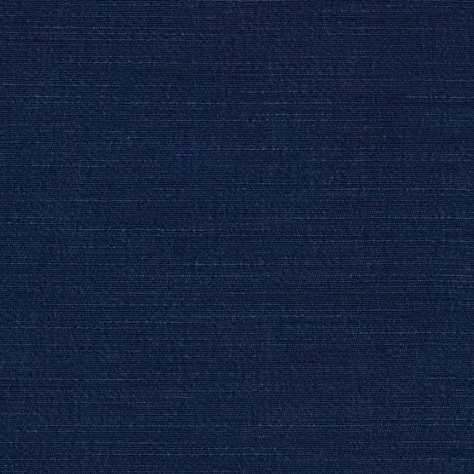キュプラ&コットン混×無地(ネイビー)×シャンタン_全2色_イタリア製 イメージ1