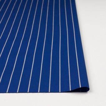 コットン×ストライプ(マリンブルー)×かわり織 サムネイル3