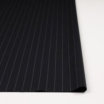 ウール×ストライプ(ブラック)×ポプリン サムネイル3
