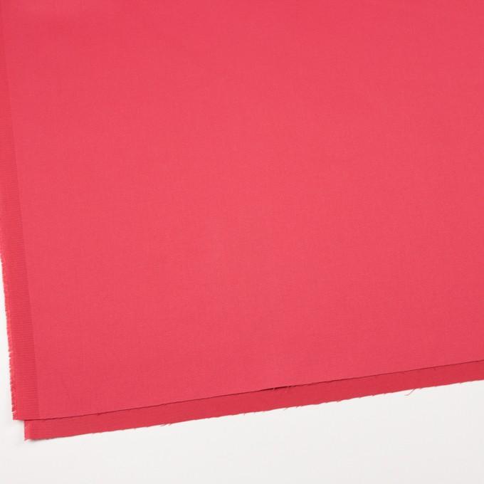 コットン&ポリノジック混×無地(カーネーション)×サテンストレッチ_全2色 イメージ2