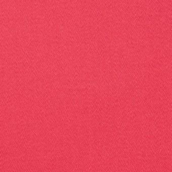コットン&ポリノジック混×無地(カーネーション)×サテンストレッチ_全2色