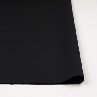 コットン×無地(ブラック)×二重織_イタリア製 サムネイル3