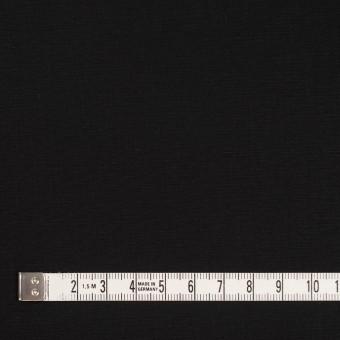 コットン×無地(ブラック)×二重織_イタリア製 サムネイル4