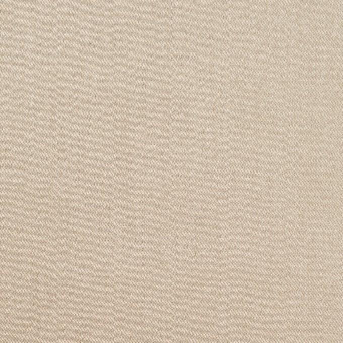 ビスコース&ポリエステル混×無地(シャンパンゴールド)×サテンストレッチ_イタリア製 イメージ1