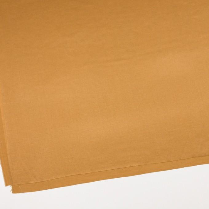 シルク&コットン混×無地(マリーゴールド)×サテン_イタリア製 イメージ2