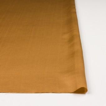 シルク&コットン混×無地(マリーゴールド)×サテン_イタリア製 サムネイル3