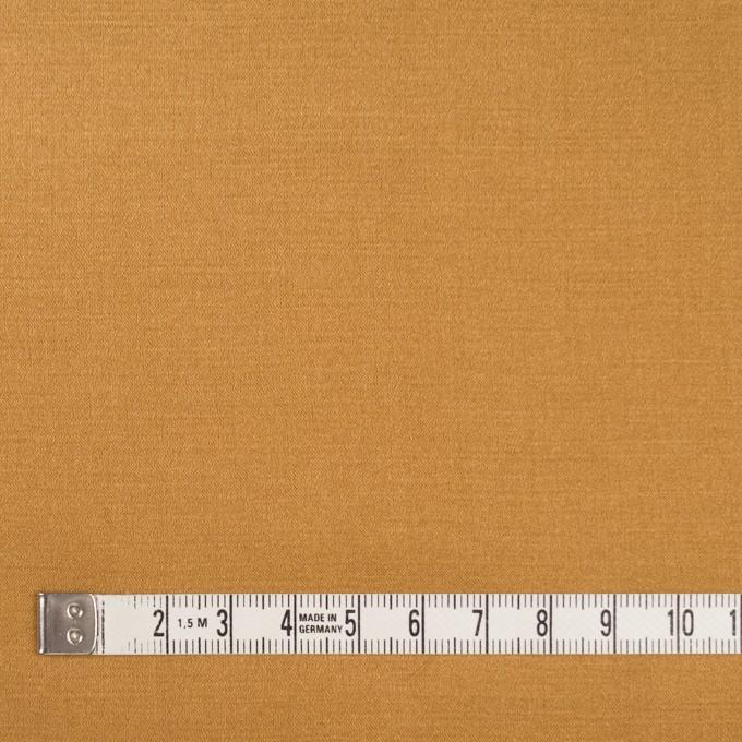 シルク&コットン混×無地(マリーゴールド)×サテン_イタリア製 イメージ4