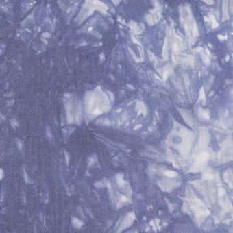 コットン&ポリエステル×マーブル(ウルトラマリン)×ブロード_全2色