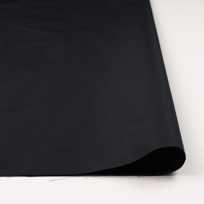 ポリエステル×無地(ブラック)×形状記憶シャンブレーシャンタン_全9色 イメージ3